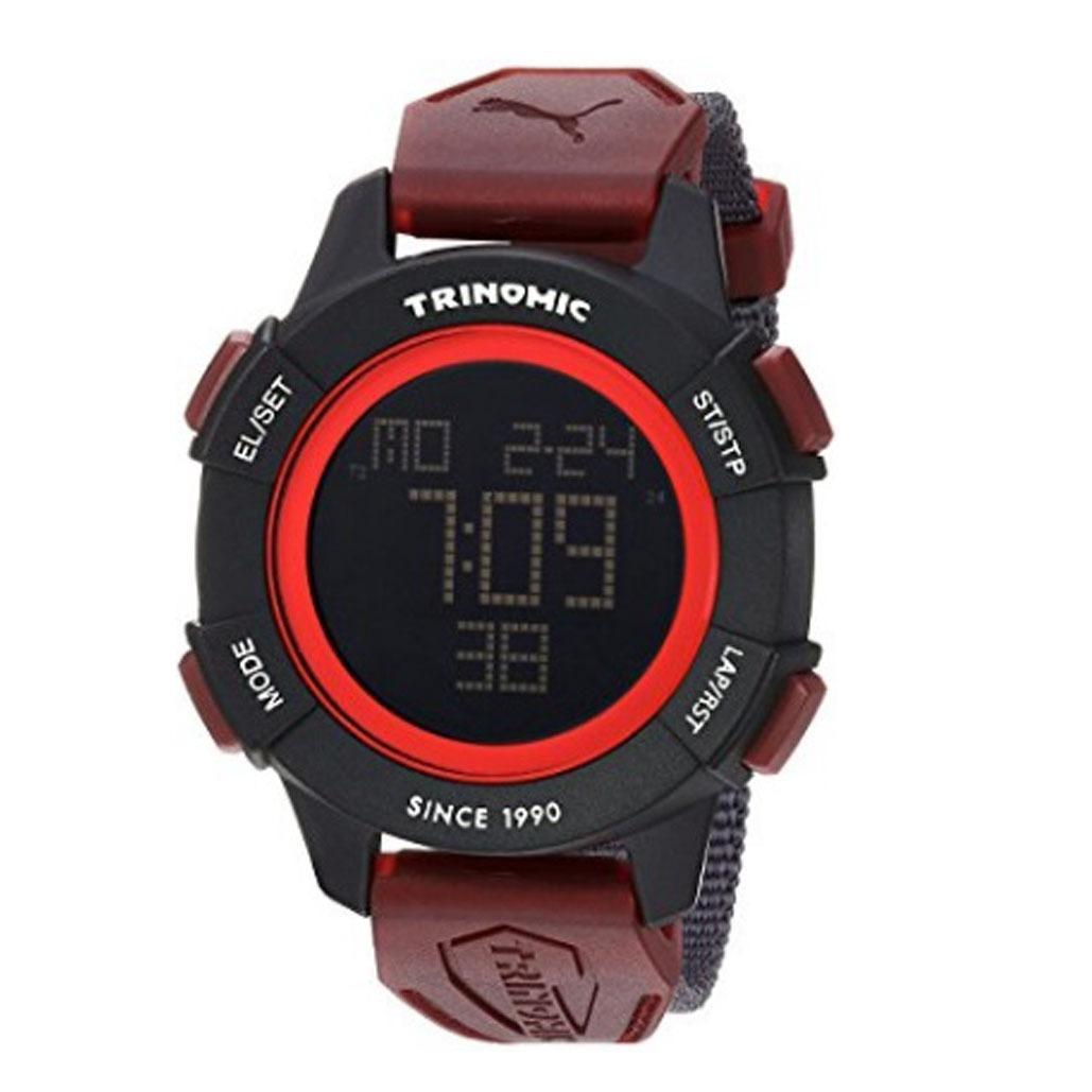 60cdf0b26 reloj puma pu911271003 digital hombre rojo negro - selfie. Cargando zoom.