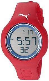 reloj hombre puma rojo