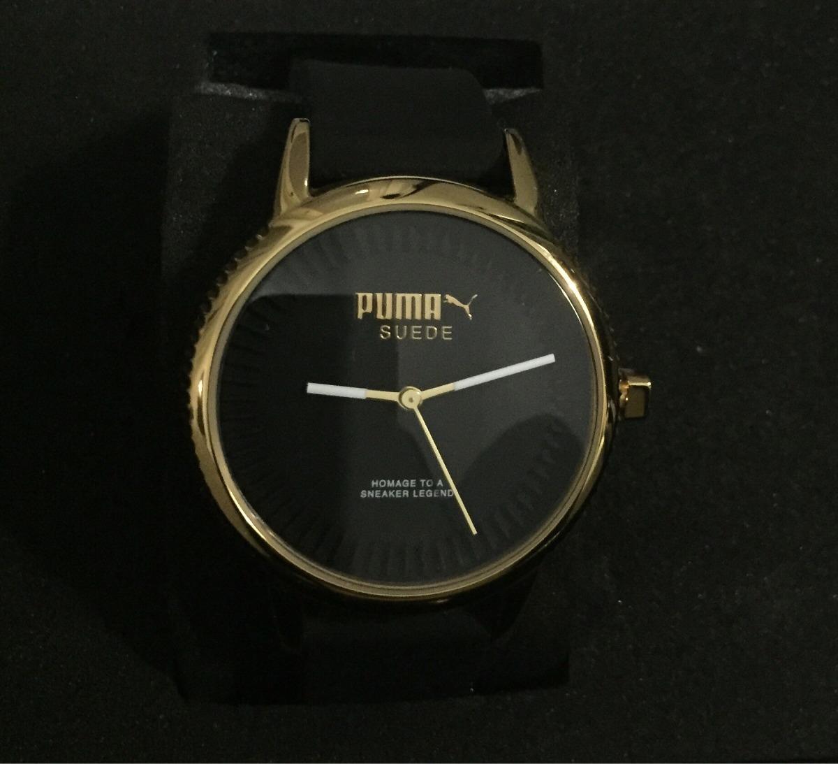 ef0d1473b1bb reloj puma suede dorado pu104252002!!! Cargando zoom.