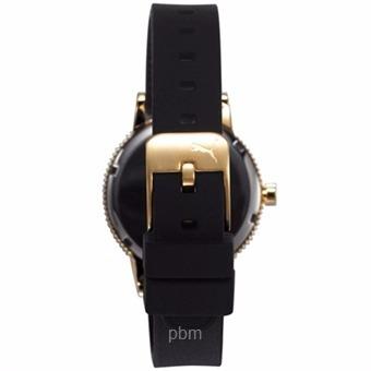 b0b7ad1f537b Reloj Puma Suede Pu104252002 Dorado negro Dama Original -   2