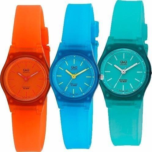 reloj q & q - para niños -  varios colores - cfmx