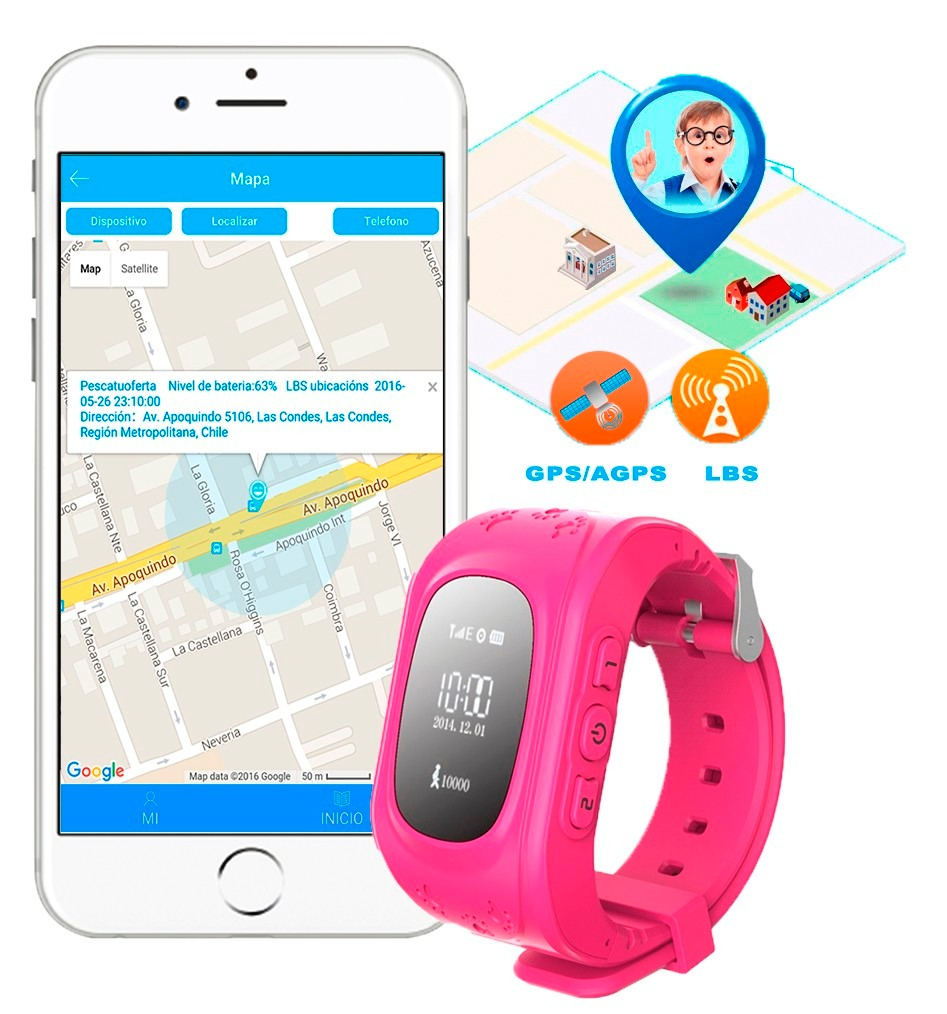 reloj q50 teléfono gps para niños envio y. sim card gratis. Cargando zoom. b111866930a5