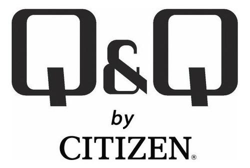 reloj q&q by citizen analogo hombre 100m agente oficial