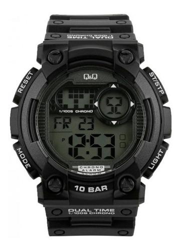 reloj q&q by citizen digital shock resistent 100m liniers