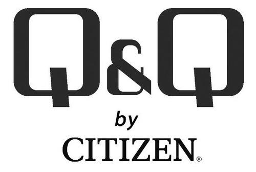 reloj q&q by citizen para mujer de acero inoxidable