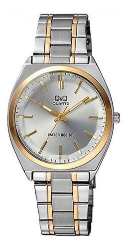 reloj q&q by citizen qa74j combinado hombre agente oficial