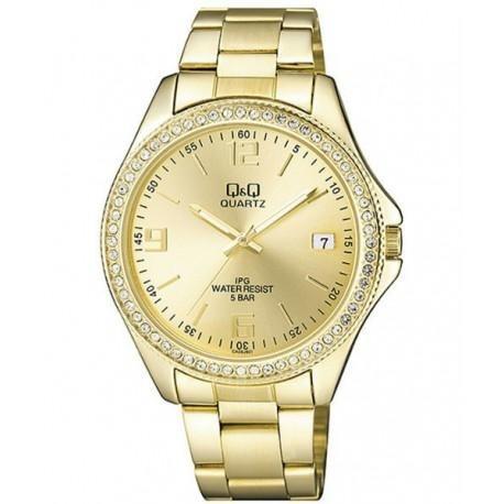 reloj q&q ca06j801y dorado de mujer