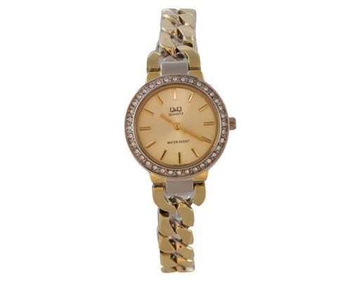 reloj q&q f503-400y dorado pm-7154173