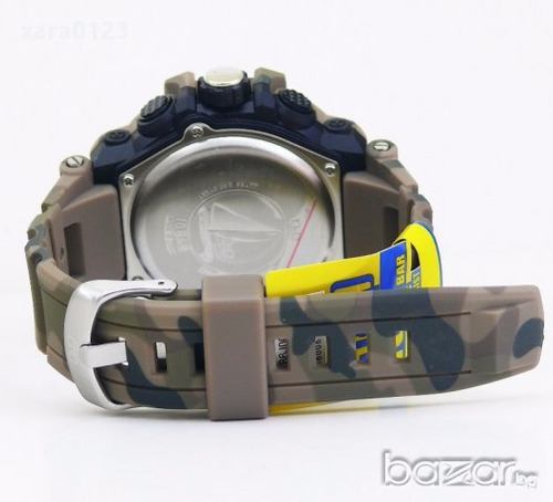 reloj qq gw86j005y by citizen militar camuflados original