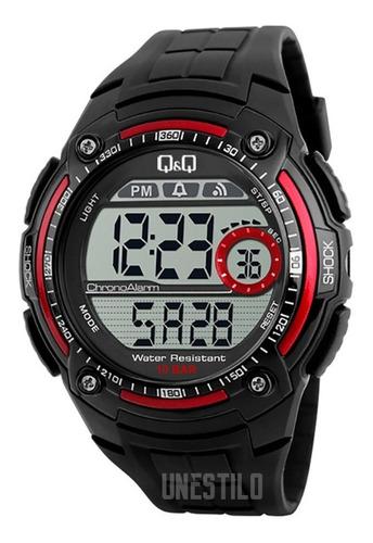 reloj q&q hombre deportivo digital acuático 100% original q