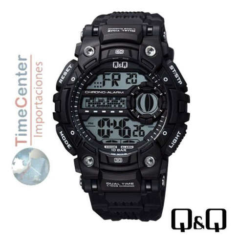 reloj q&q hombre deportivo dígital resistente al agua