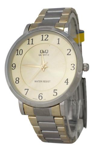 reloj q&q hombre q944j404y bicolor