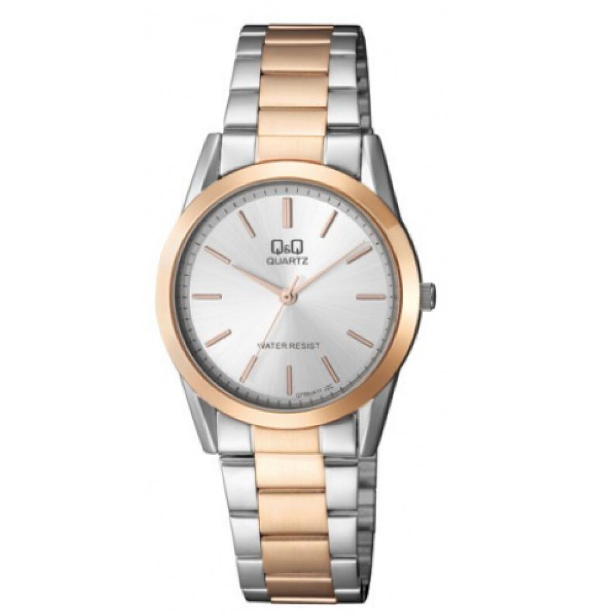 ea84cdc05329 Reloj Q q Q700j411y Bicolor Para Dama -   89.900 en Mercado Libre