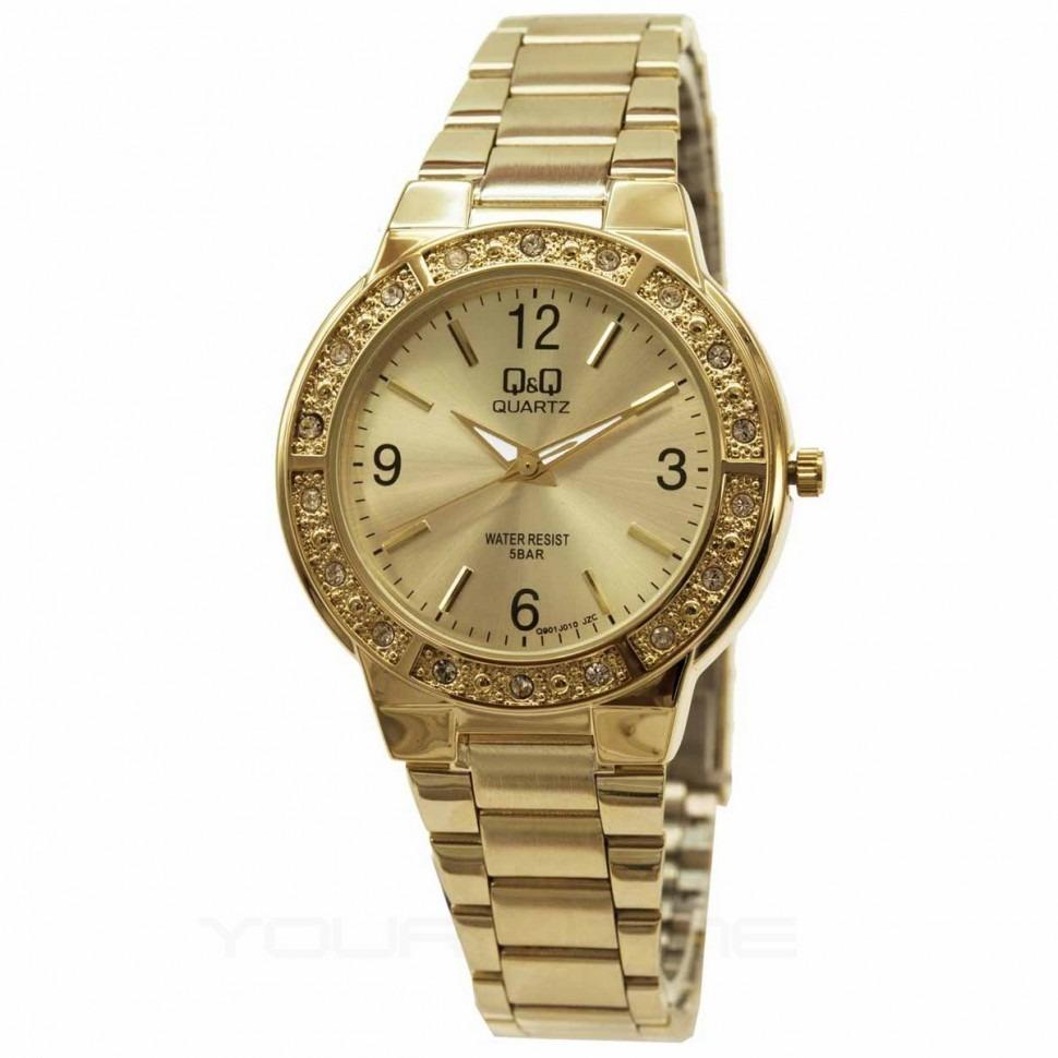 b92a8a427129 Reloj Q q Q901j010y Dorado Para Dama -   89.900 en Mercado Libre