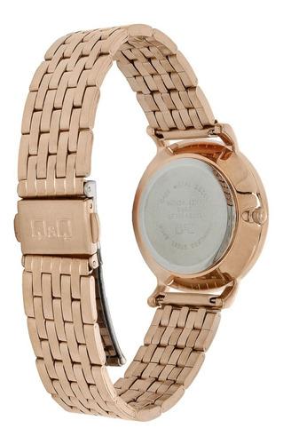 reloj q&q retro mujer oro rosa