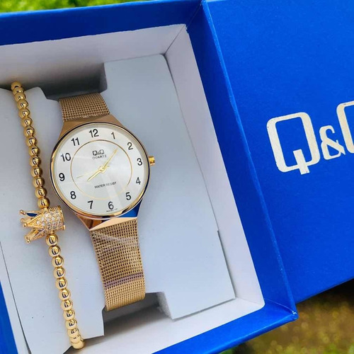reloj qyq para dama
