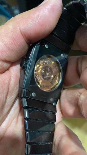 reloj rado automático cerámica negro