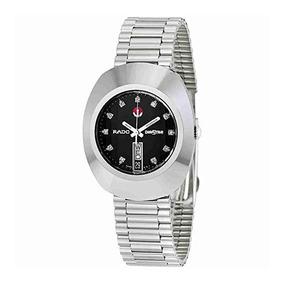 Automatico Negro Reloj Diastar Tungsteno Rado f6yv7Ygb