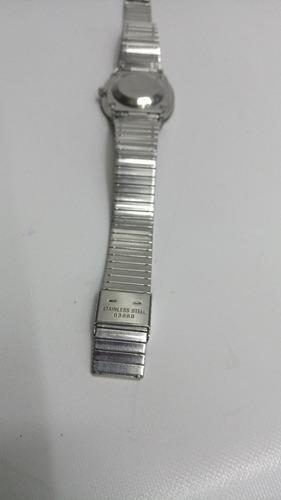 reloj rado suizo original automatico plano zafirado