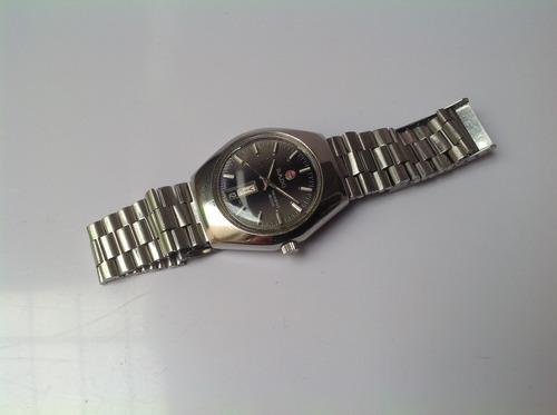 reloj rado trident automático. original 70's. doble fechador