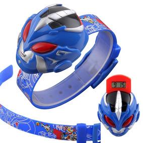 Niños Infantil Reloj Moda Ranger Led Juguete 1239 Sm c3RLq5j4A