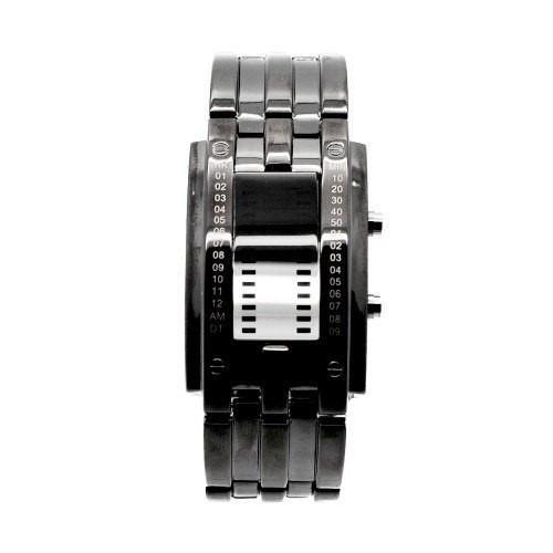 Reloj Raro Touch Led Ninja Lujo Digital Binario Moderno