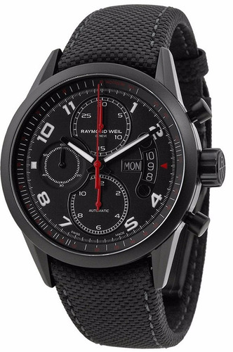 reloj raymond weil freelancer automatico negro 7730-bk-05207