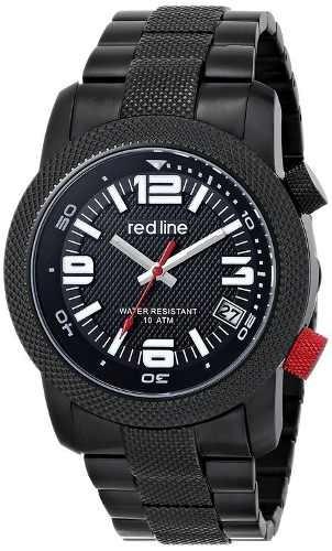 reloj red line negro- masculino wref126