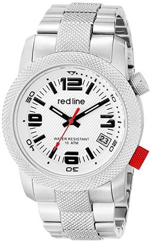 reloj red line rl s plateado