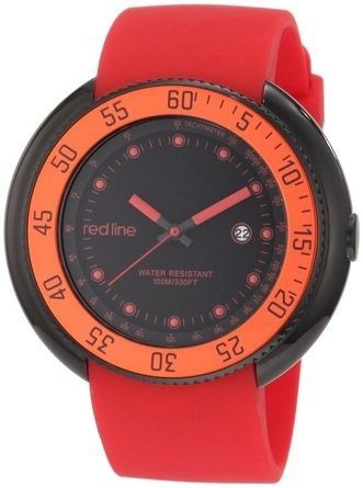 reloj red line rojo