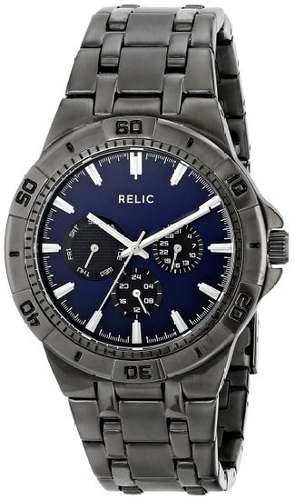 reloj relic by fossil gris