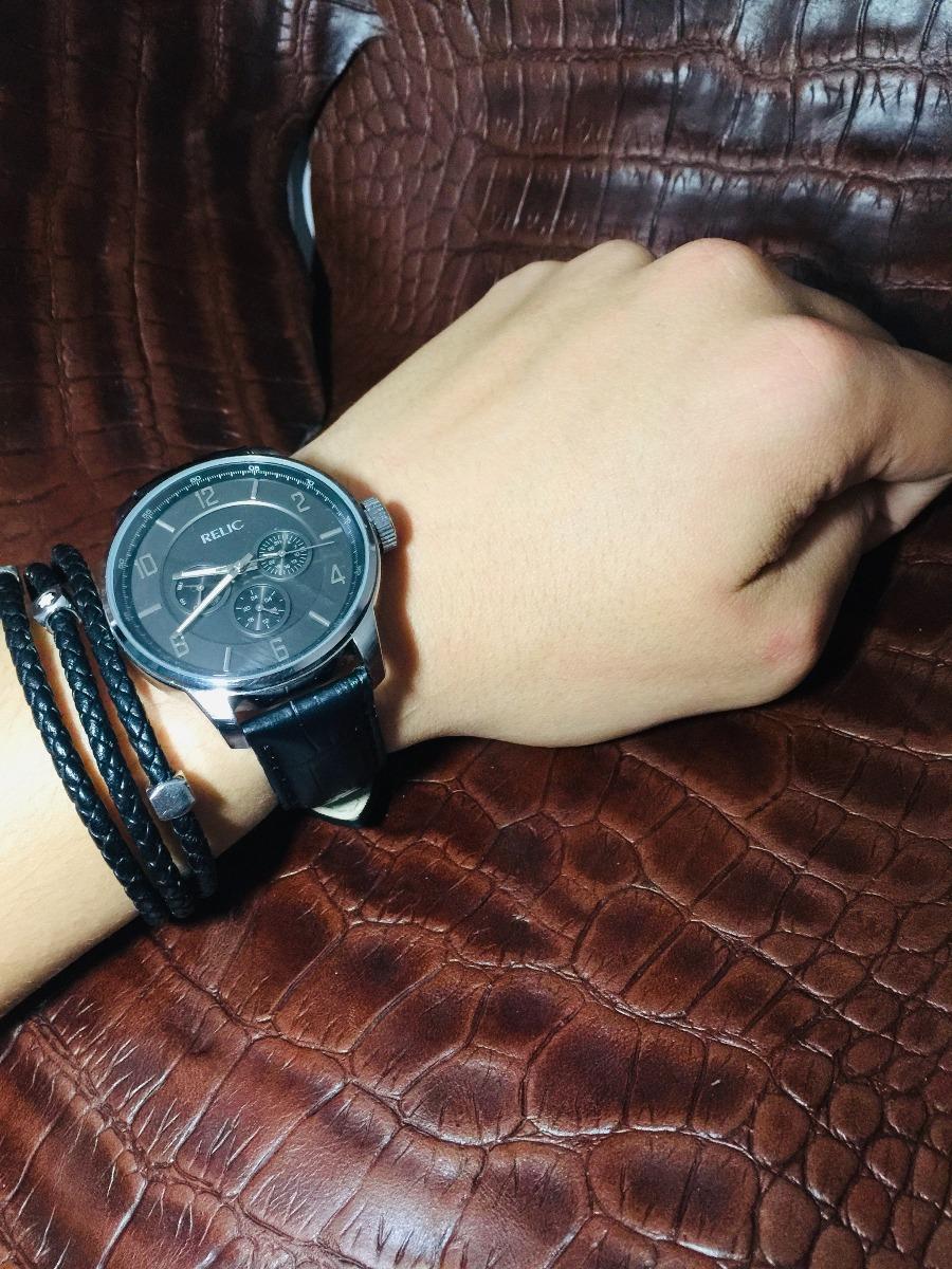 251569844dae Reloj Relic Negro