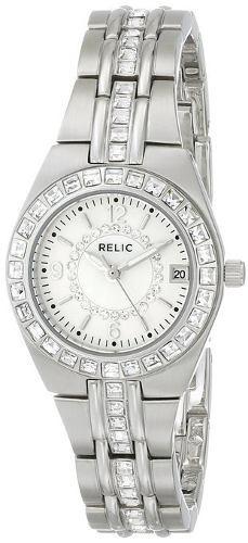 reloj relic plateado