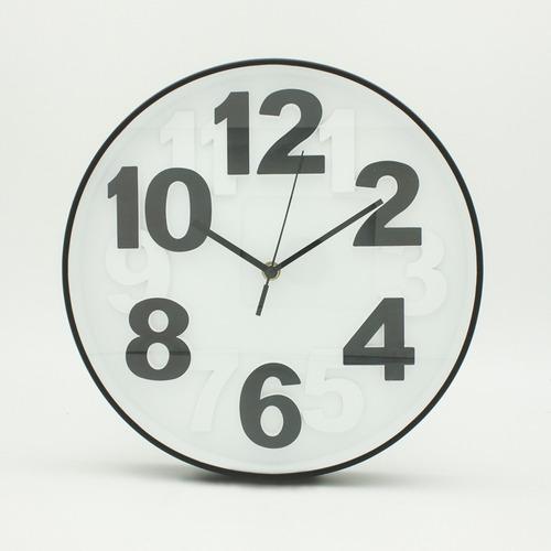 reloj relieve bn decoración morph