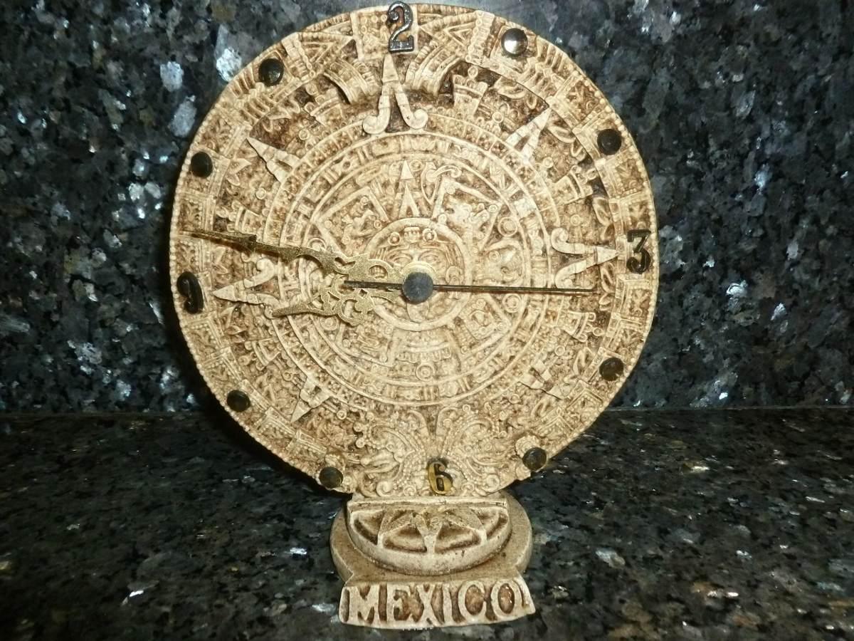 Calendario Bateria Bs170 De 00 000 Reloj Relieve Azteca yb6gvf7Y