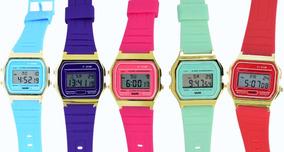 ab8166bf8f0f Reloj Casio Retro Colores - Reloj Casio en Mercado Libre México