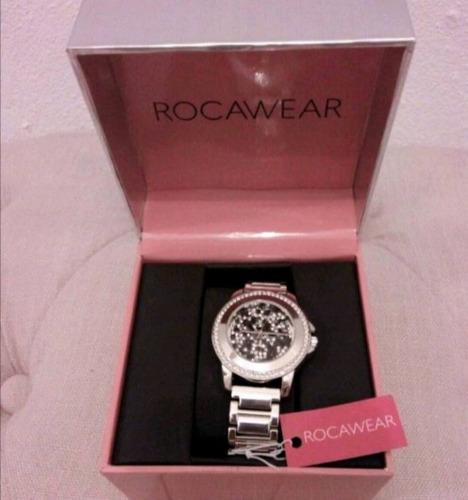 reloj rocawear cristales