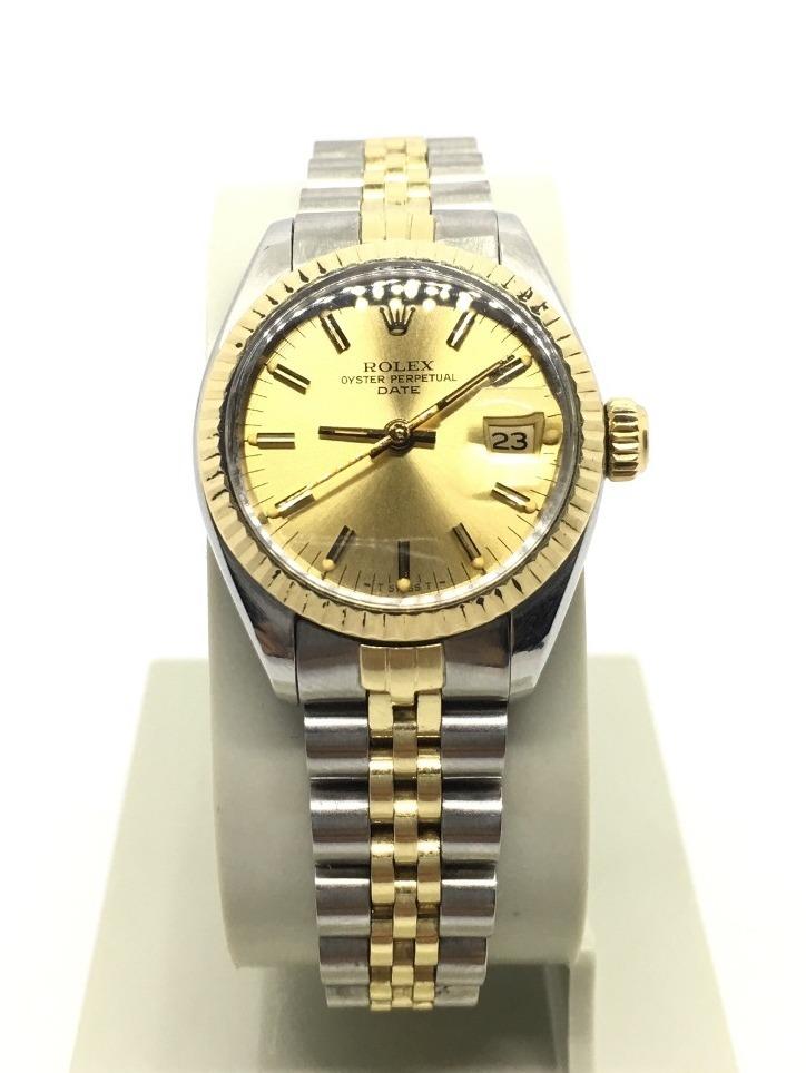 Rolex De Oro De Mujer