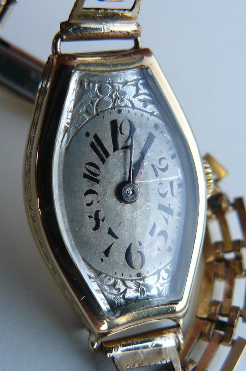 Rolex Reloj 000 Año Antiguo Oro 18k Solido Suizo 1948990 Cuerda En TF13KclJ