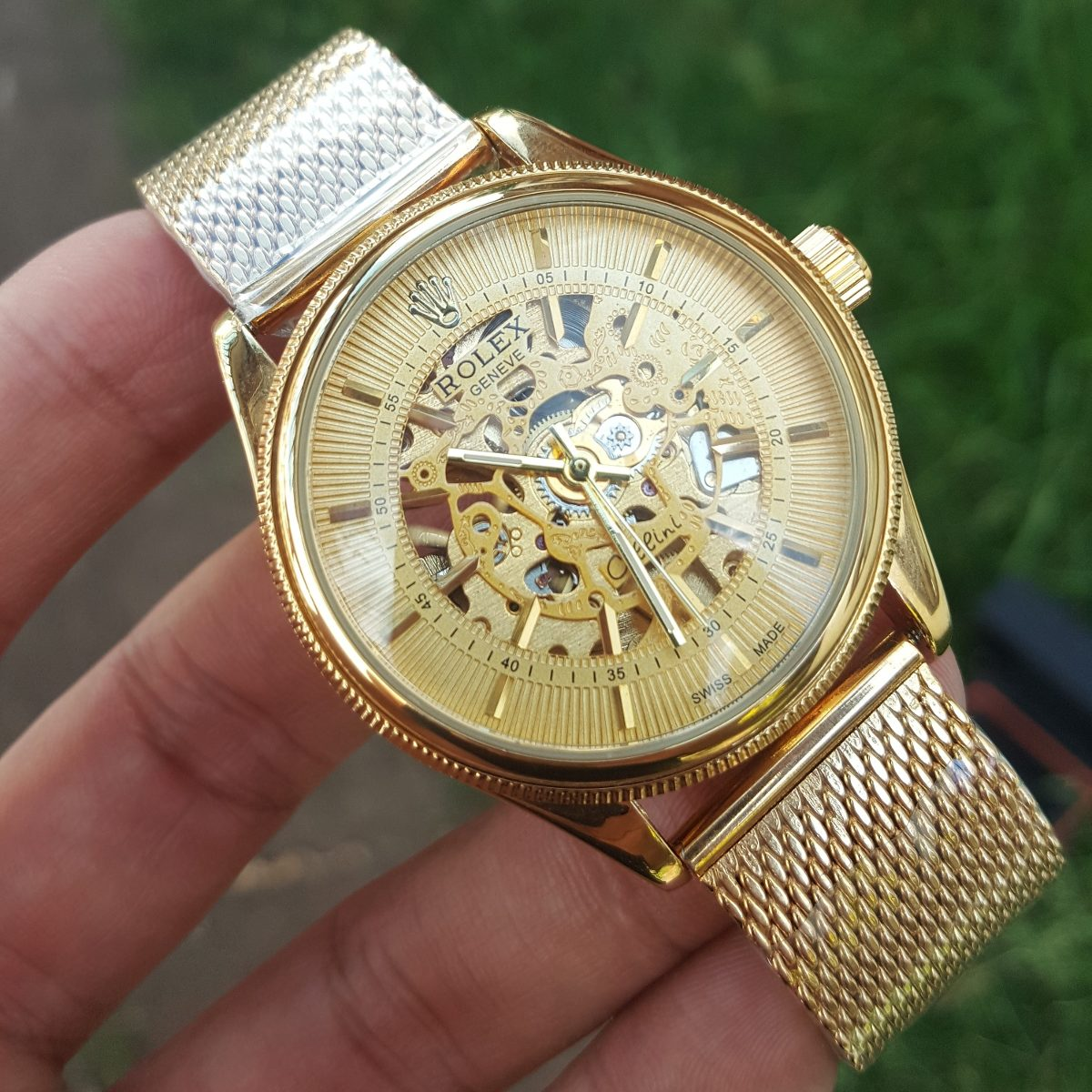 6ecb48e55ca Reloj Rolex Automatico Corazon Abierto R.n23 -   145.000 en Mercado ...