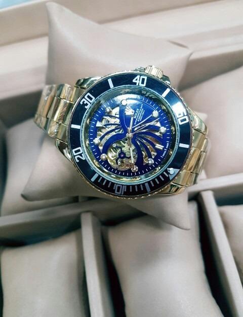 3d9243b5d6b Reloj Rolex Automático Hombre Dorado Corazon Abierto -   120.000 en ...