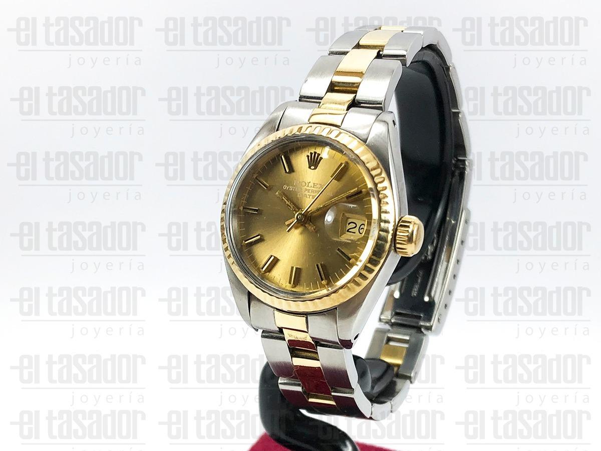 4a8c1d4fc9c reloj rolex combinado de dama ref  6917  joyeriaeltasador . Cargando zoom.