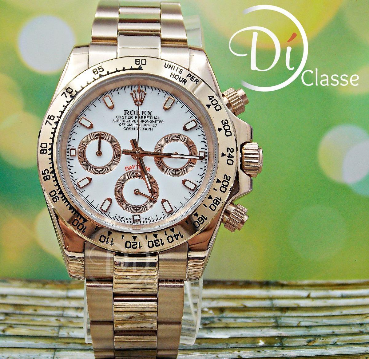 Rosablanco Cosmograph Reloj Rolex Daytona Oro PZkXiu