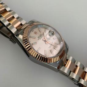 Rolex Oro Datejust C Automatico Bi Tono Reloj Rosa Caja277r 7I6gybYfv