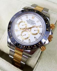 Acero Rolex Daytona Cara Numero Reloj Oro Arabigos Plata Relojes PkXZuOiT