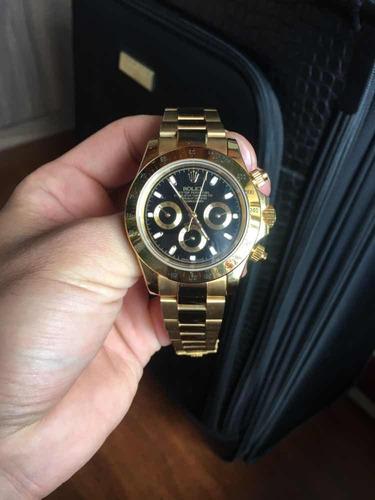 reloj rolex daytona dorado automático