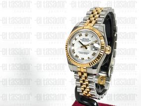 Para estrenar 87f1c d6e6f Reloj Rolex De Dama Combinado Ref: 179173 *joyeriaeltasador*