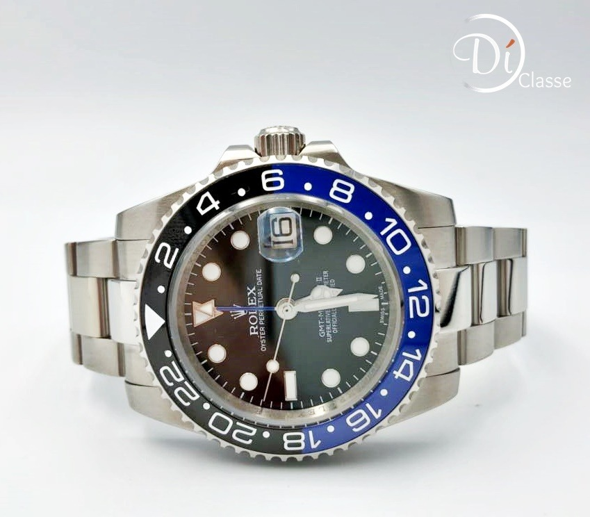 19fa7442d0b Reloj Rolex Gmt Master Batman Eta Suizo -   11