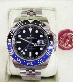 Caja Rolex Reloj Ll Suizo Gmt Master Jubile Eta Batman IYb67gvmfy