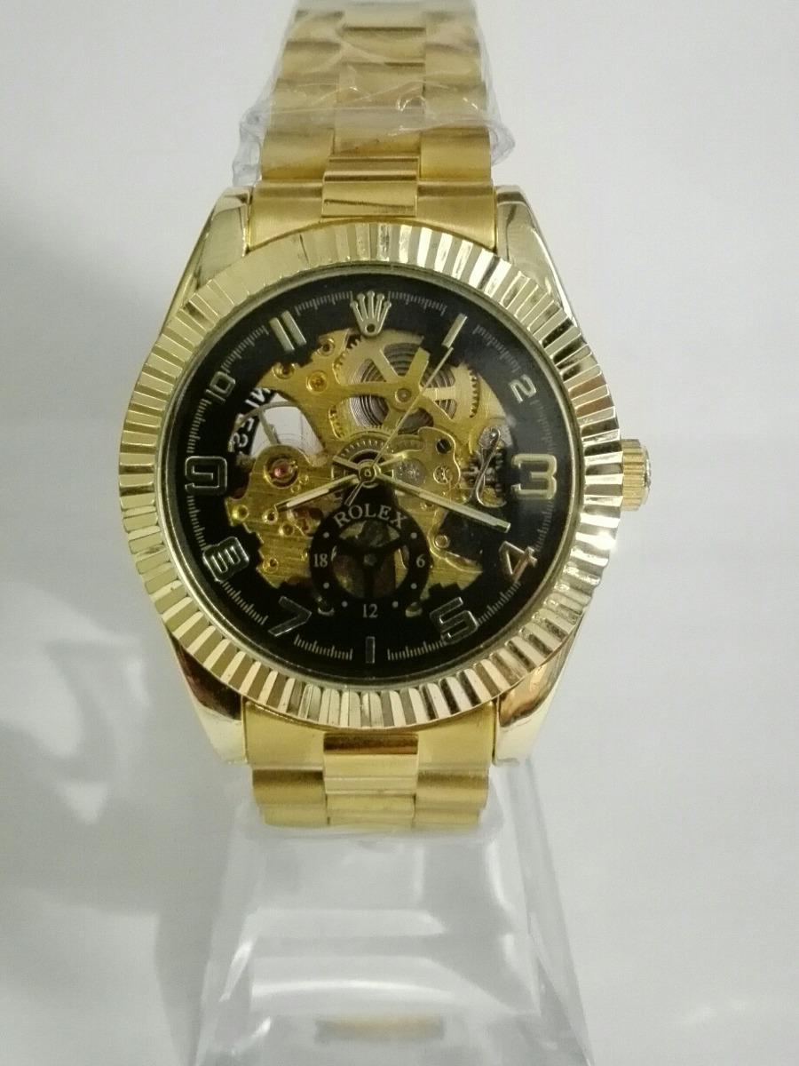 460069b461185 Reloj rolex dorado de hombre – Anillos hombre